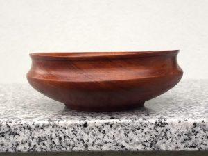 Kleine Schale aus alter Kirsche 13 x 4,5 cm