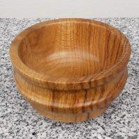 Schale aus Eichenholz 11 x 7 cm