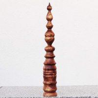 Turm aus Pfirsichholz 5 x 34 cm