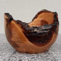 Schälchen aus Apfelholz 9,5 x 7 cm