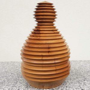 Bonbonniere aus Marille, 21 x 13 cm
