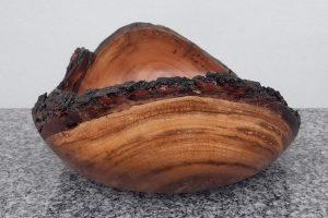 Schale aus alter Kirsche 25 x 12 cm