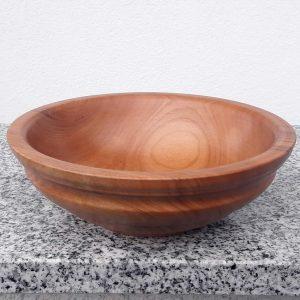 Schale aus alter Kirsche 17 x 5,5 cm