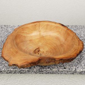 Schale aus altem Ahornholz