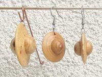Set Ohr-und Halsanhänger Esche