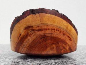 Schälchen aus altem Zwetschkenholz 11 x 6,5 cm