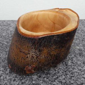 Schale aus Weidenholz, 17 x 7 cm