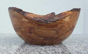 Schälchen aus altem Apfelholz
