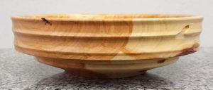 Schale aus Traubenkirschenholz 17,5 x 5,5 cm