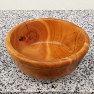 Kleine Schale aus alter Kirsche 11,5 x 5,5 cm