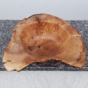Schale aus altem Ahornholz 26 x 8 cm