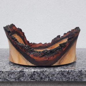 Schale aus Marillenholz 16 x 7 cm