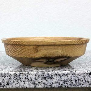 Kleine Schale aus Robinienholz 12 x 3,5 cm
